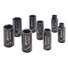 "SK3H8L by INGERSOLL RAND - 3/8"" SAE DEEP SOCKET SET, 8 PIECE"