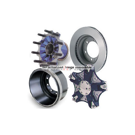 HR735K by GUNITE - Rear Disc Wheel Hub